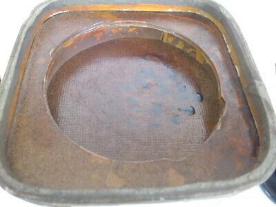 Große Apothekerdose Pappe Bakelit Aufbewahrung um 1900 9