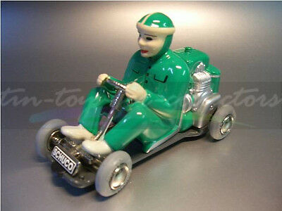 Original Schuco Go-Kart Micro Racer 1035 Grün Mit Originalverpackung(Ab) 2