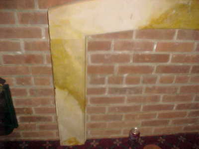 "1929 Antique Marble Surround  2 "" Thick 45"" Wide X 40"" Tall At The Top 9"