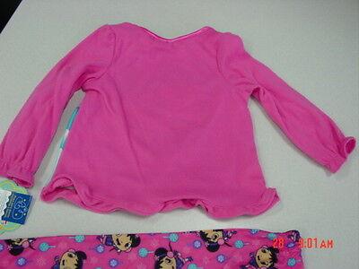 NWT Girls Nickelodeon Ni Hao Kai-lan Pajamas Flannel NEW Adorable