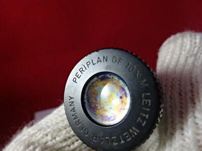 Pour Pièces Leitz Allemagne Oculaire Gf 10X M Microscope Pièce Optiques Tel Quel 4