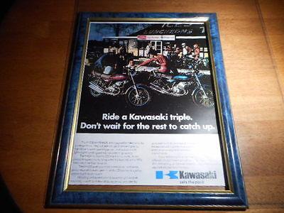 Kawasaki Triple KH250 KH400