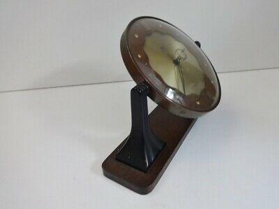 Vintage Smiths Sectric Art Deco Bakelite wood mantel clock (spares and repairs) 8
