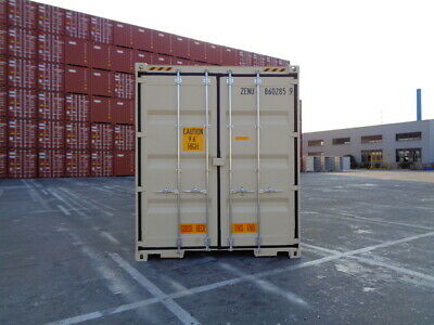 Double Door(DD) - 40' HC New / One Trip Shipping Container in El Paso, TX 4