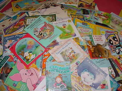 Lot of 10 Childrens Reading Bedtime-Story Time Kids BOOKS RANDOM MIX UNSORTED 4