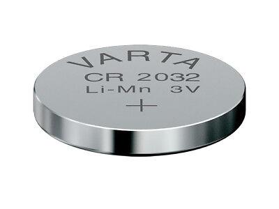 Varta CR2016 CR2025 CR2032 Batterien Uhren Knopfzellen Knopfzelle 1-20 stück 4