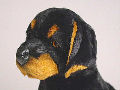 Doberman Pinscher Puppy By Piutre Hand Made In Italy Plush Stuffed