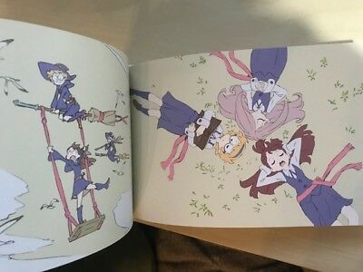 TRIGGER Little Witch Academia Exhibition Event Item Key Animation Art Book