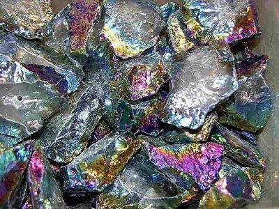 "Amethyst Aura crystal quartz bigger drilled necklace//pendant 1-2.7/"" 5 piece lots"