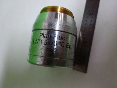 Microscope Pièce Reichert Polyvar Objective Lwd Fluor 5X Optiques Tel Quel 5