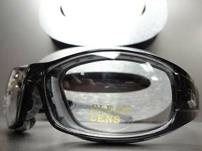 SPORT RACQUETBALL Lens Lensless PROTECTIVE PADDED SAFETY GLASSES GOGGLES EYEWEAR