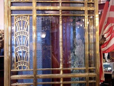 1928 Art Deco American Brass Co. Doors Monumental Architectural Masterpiece 3