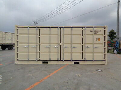 Open Side (OS) - 20' New / One Trip Shipping Container in Atlanta, GA 2