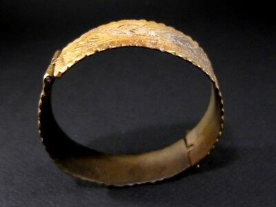 Magnificent 1800 Antique Bronze Bracelet In Two Movable Parts!!!