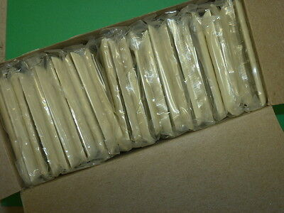 NOS! LOT of (25) BELL ELECTRIC IVORY 1 GANG SINGLE SWITCH PLATES, CAT # 10-01-IV 3