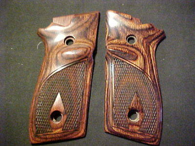 Taurus PT 945 Beautiful Rosewood Checkered Pistol Grips Fancy Checkered NEW!