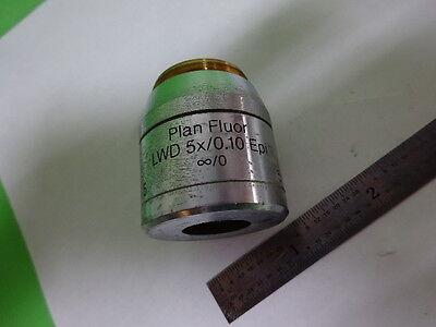 Microscope Pièce Reichert Polyvar Objective Lwd Fluor 5X Optiques Tel Quel 8