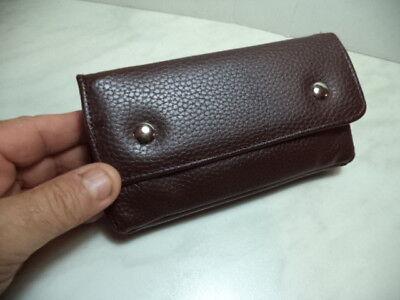 Borsa Portapipa Per 1 Pipa + Accessori  Atomic Bag Pipe  Similpelle Marrone  New 2