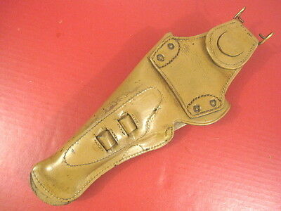 WWI US Army AEF M1912 Leather Swivel Holster Colt M1911 .45acp Pistol Repro