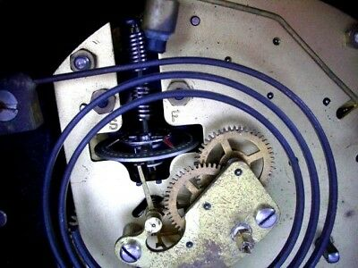 Vintage Art Deco 8-Day Floating Balance Mantel Clock-working-keeps good time 7