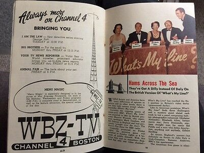 TV GUIDE SEPTEMBER 11, 1953 Ralph Edwards Marlin Perkins What's My Line?