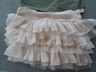 Ensemble jupe rose TAPE A L'OEIL + t-shirt kaki et rose imprimé Taille 3 ans 7