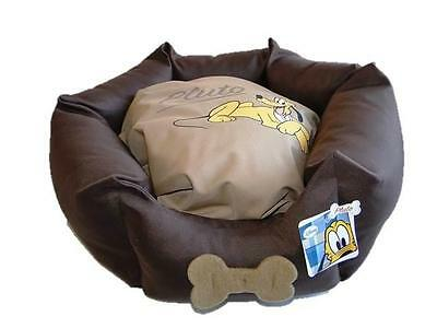 Disney Pampered Pluto Venus Katzenbett Hundebett Haustier-Bett Braun NEU! 2