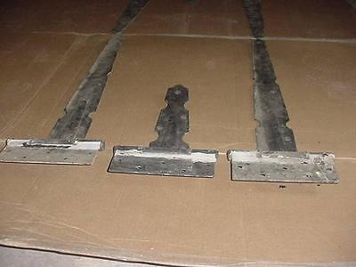 1920's Full Set Antique Gothic Steel Carriage Barn Garage Door 6 Stanley Hinges 10
