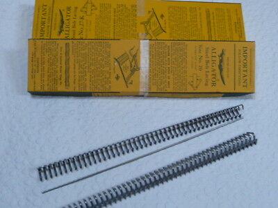 Qty 2 sets steelace no 6 steel belt lacing 300mm ...