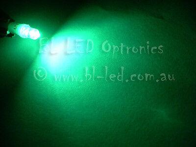 10x T5 74 24 Wedge Universal Green Flat Top LED Light Bulbs Dash Instrument HVAC 3