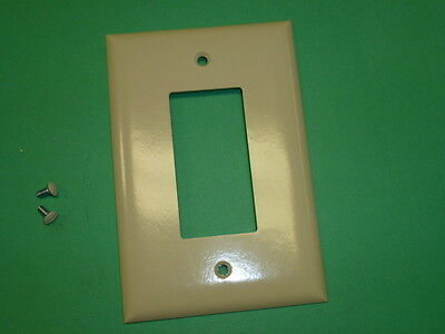 """NOS! LOT of (35) PASS & SEYMOUR 1 GANG SWITCH PLATES, OVER SIZED 5-1/4"""" X 3-1/2"""""""