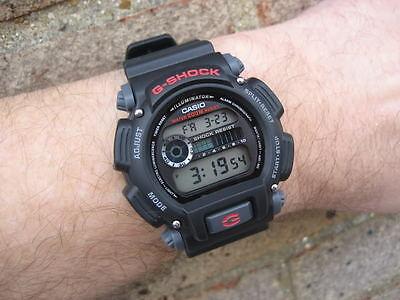 Casio G-Shock Digital Mens Watch Dw9052-1V Black/red 2Y Warranty Dw-9052-1Vdr 11