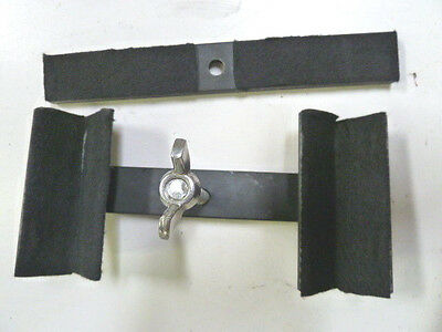 Iron Brackets for Self Stand Space Saving Display Antique Iron Head & Foot Board 6