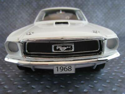 1968 Ford Mustang S//s Cobra Jet al joniec rice Holman 1:18 auto World Ertl