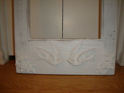 Shabby & Chic Swallow Bird Furniture Appliques 1 Pair L/R Architectural Mount 7