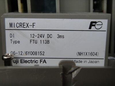 FUJI FTU113B FTU 113B used and tested
