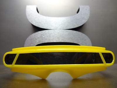f715e912f9 ... New SPACE ROBOT ALIEN PARTY COSTUME CYCLOPS FUTURISTIC SHIELD SUN  GLASSES Yellow 4
