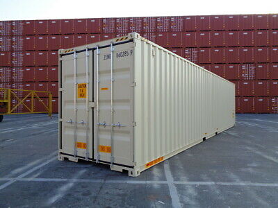 Double Door(DD) - 40' HC New / One Trip Shipping Container in Cleveland, OH 3