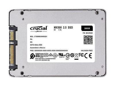 "Crucial MX500 2.5"" 500GB SATA III 3D NAND Internal Solid State Drive (SSD) CT500 2"