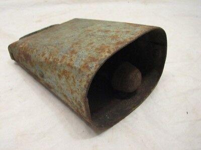 Antique Cow Bell Farm Tool Football Noise Maker Musical Instrument