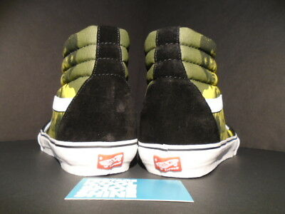 de08959dd80b ... 2013 Vans Sk8-Hi Pro Supreme Bruce Lee S Yellow Black White Vn-099Nann