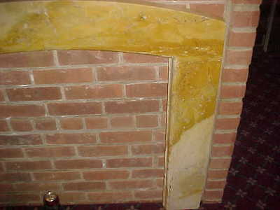 "1929 Antique Marble Surround  2 "" Thick 45"" Wide X 40"" Tall At The Top 8"