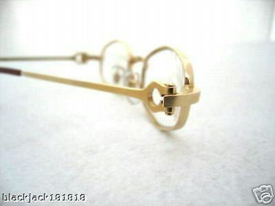feed1177627c ... Cartier Gold Octagon Eyeglasses Glasses - Authentic New T8100427 2