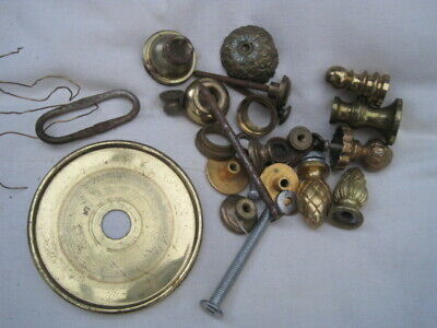 Job lot of assorted vintage clock parts 6