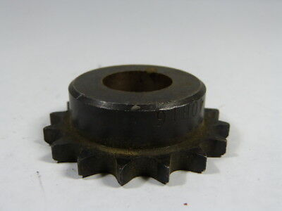 "Martin 2060B16 16T Sprocket USED 1/"" Bore"