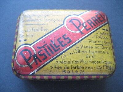 Metall Box Taschenapotheke Pastillen Perret Francesa. mit Bpz Innen 3