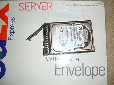 HPE 652583-B21 653957-001 600GB 10K 6G 2.5 SAS ENT HDD SC INCLUDES HDD TRAY