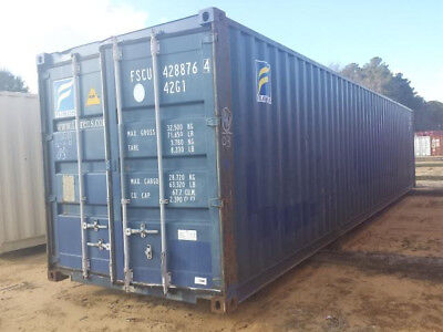 Used 40' High Cube Shipping Container New Orleans, Louisiana 3