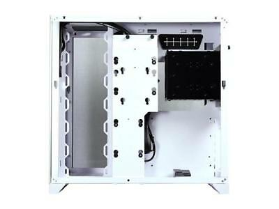 LIAN LI PC-O11 Dynamic White Tempered glass on the front, and left sides. Chassi 3