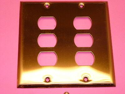 Nos! Bell Interchange 2-Gang Copper Finish Wall Plate, Horizontal, 19-2-Cfx 2